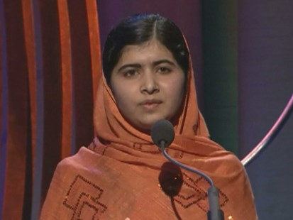 Malala Yousafazai Wows Crowd With Inspiring Words