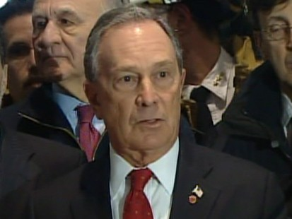 VIDEO: NYC Mayor Bloomberg talks about plane crash