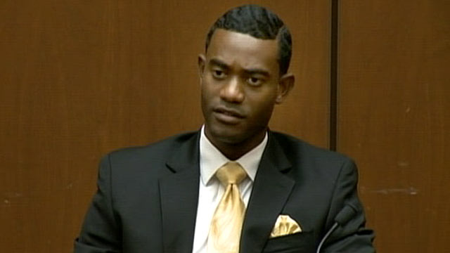 PHOTO: Michael Amir Williams, Michael Jackson's assistant, took the stand at the Conrad Murray trial, Sept. 28, 2011.