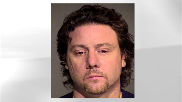 PHOTO: Michael Turley, a Phoenix filmmaker, was arrested after police say he staged a terroristic threat designed to test police response time.