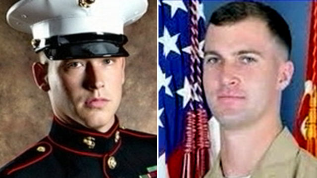 PHOTO:Sgt. Jacob Chadwick, 23, left, received a lifesaving kidney from Lt. Patrick Wayland, 24, right, who died after going into cardiac arrest on Aug. 1, 2011.