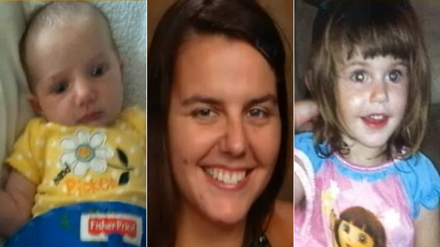 PHOTO: Aneta Marsek (C) and her 2 daughters Macenzie (L) and Chevelle (R), of Volo, Ill. went missing last weekend.