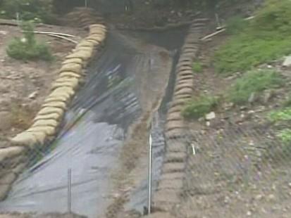 Video: Heavy rains cause dangerous mud slides in California.