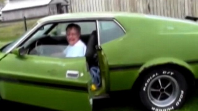 VIDEO: Four siblings bought the car Richard Lookebill sold 24 years ago and delivered it to his Indiana home.