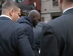 PHOTO: Naeem Davis, in custody in connection with the death of Ki-Suck Han, who was allegedly shoved into the path of a Q train in New York City, Dec. 4, 2012.