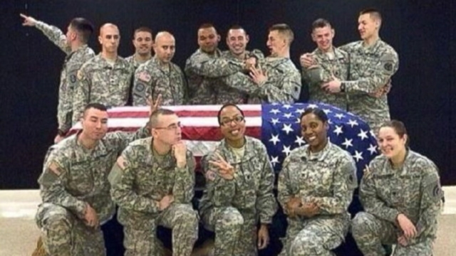 VIDEO: Gov. Scott Walker says the Wisconsin National Guard is investigating the controversial photo.