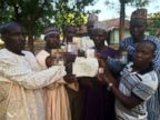 PHOTO: A group of desperate fathers, brothers and uncles whose girls were among those kidnapped a month ago spoke to ABC News in the north-eastern town of Yola, Nigeria.