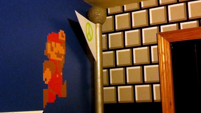 VIDEO: Super Mario Bedroom