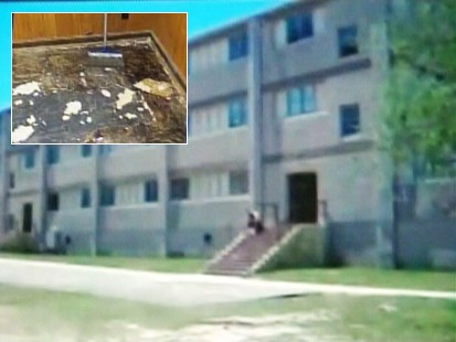 Video of Fort Bragg asbestos scare.
