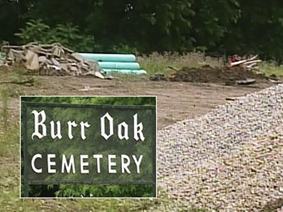Video: Chicago area cemetery digs up old graves in r
