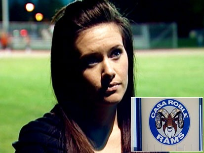 Video: Former Playboy model loses job as H.S. cheer coach.