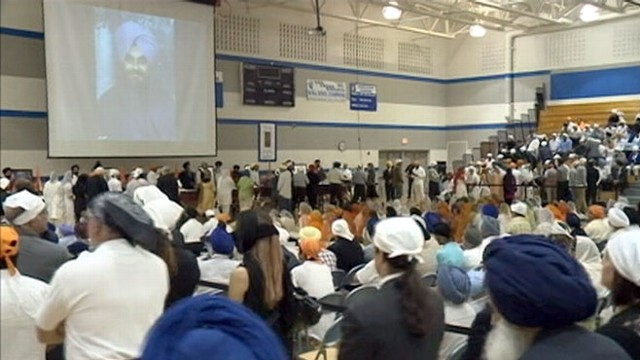 VIDEO: Sikh Temple Shooting: Thousands Come to Wisconsin Memorial