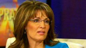 Sarah Palin speaks with Oprah Winfrey