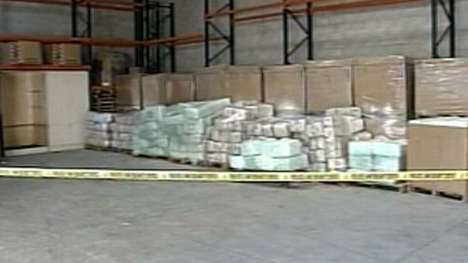 Video: Large pot bust.