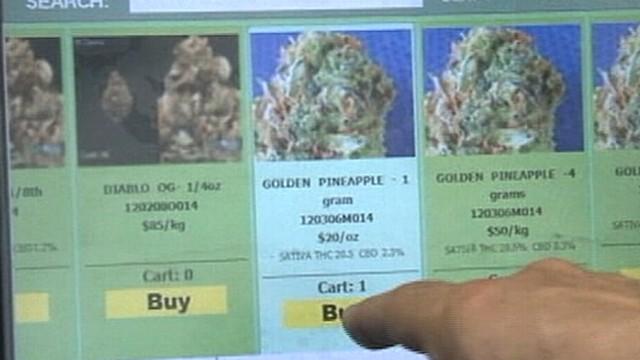 Marijuana Vending Machine Unveiled