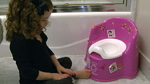 PHOTO An Arlington, Va. mother says she was shocked when the principal of her daughter, Zoes, preschool said the 3-year-old had violated the schools potty training policy
