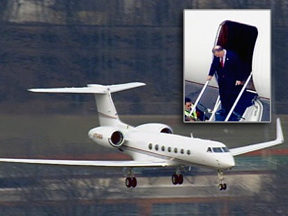 VIDEO: Bank CEOs Private Plane Trip