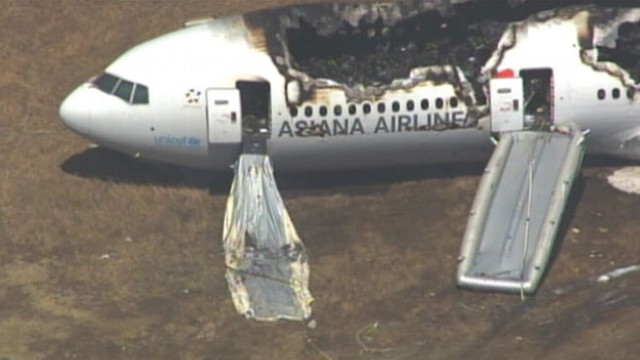 VIDEO: At least 130 people on board flight that crashed at San Francisco airport were transported to hospitals.