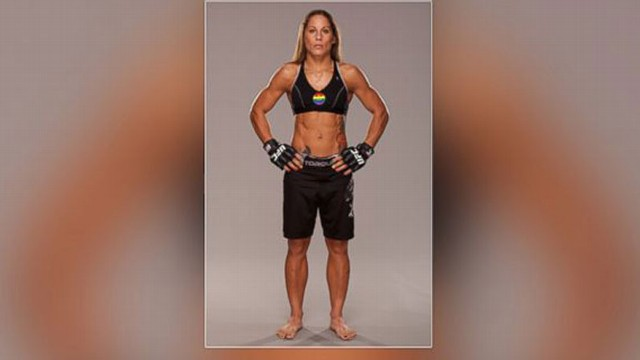 VIDEO: UFC Bantamweight fighter Liz Carmouche on her transition from the U.S. Marine Corps to MMA fighter.