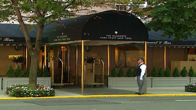 PHOTO: While she was finalizing her divorce from millionaire Ted Ammon, Generosa Ammon moved into Manhattan's Stanhope Hotel with her lover, Daniel Pelosi.