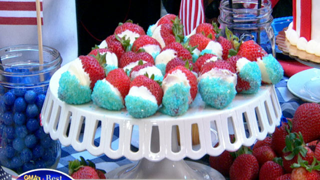 PHOTO: The Cake Boss' Red, White and Blue Strawberries