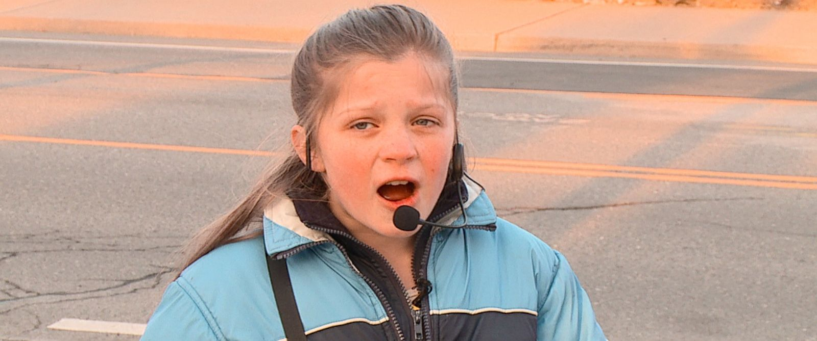 PHOTO: Susanna LaVelle, 11, shown here during her preaching debut in Spokane, Wash.