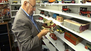 """PHOTO """"People ask me, """"How many toys do you have?"""" Kaufman says. """"I dont know. I dont really know. But I know I got a lot of toys."""""""