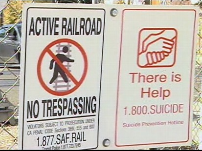 Video: Teens use local train tracks to commit suicide.
