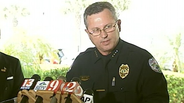 "VIDEO: Sanford, Fla., Police Chief Bill Lee ""temporarily"" steps down from investigation."