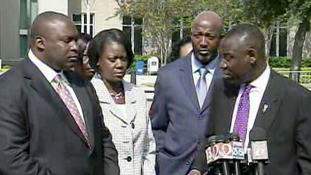 PHOTO: Trayvon Martins parents appeared in court, Oct. 19, 2012, to try and stop the release of their sons school records.
