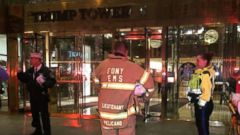'PHOTO: Firefighters, EMS workers and police1_b@b_1Trump Tower in New York, investigating suspicious white powder found on the 5th floor on April 28, 2016.' from the web at 'http://a.abcnews.go.com/images/US/abc_trump_powder_dc_160428_16x9t_240.jpg'