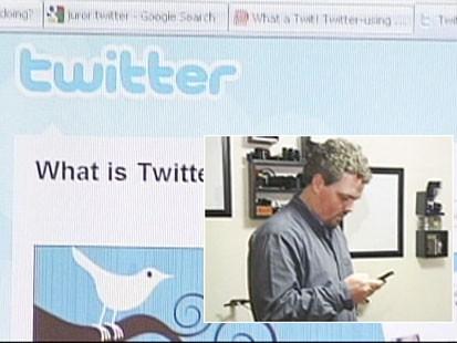 Video: Juror jeopardizes trial with twitter.