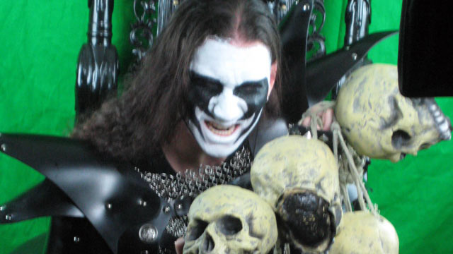 PHOTO: Brian Manowitz, the Vegan Black Metal Chef, offers an unusual take to cooking on his wildly popular Internet cooking show.