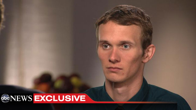 """PHOTO: Aaron Fisher, Victim 1 in the Jerry Sandusky Sexual Abuse Case, has broken his silence in an exclusive interview with """"20/20s"""" Chris Cuomo."""