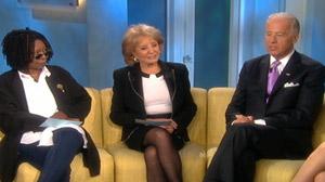 Biden Talks about UN Sanctions during a live interview on ABC?s ?The View,?