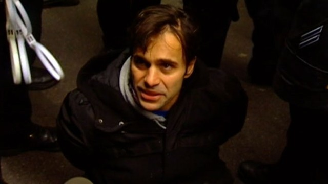 """VIDEO: While protesters support """"OWS"""" methods, some New Yorkers voice frustration."""