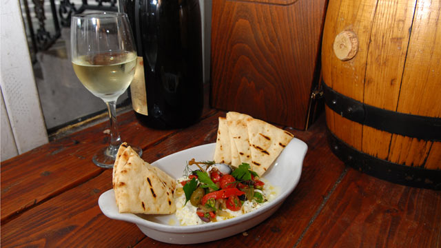 PHOTO: The Warm Feta Salad from Kefi restaurant is a perfect summer salad for the fourth of July weekend.