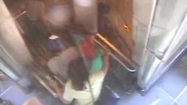 VIDEO: Surveillance shows August 23, 2011 earthquake rattle D.C. tourist attraction.