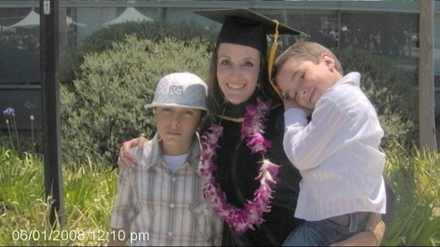 PHOTO: Amanda Lamond-Holden went from welfare mom to doctor.