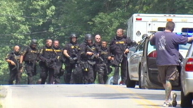VIDEO: Gunman?s killing spree included his girlfriend and members of her family.