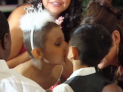 VIDEO: A terminally ill girl gets married in Texas.