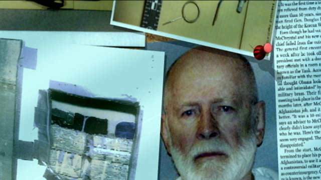 PHOTO: Police released hundreds of photos from the Santa Monica apartment of former Boston Irish mafia boss John Whitney Bulger, who was arrested last year and awaits trial on 19 counts of murder.