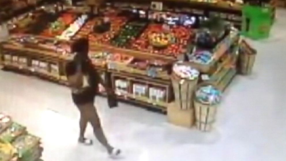 VIDEO: Police say Desiree Taylor, 35, was only wearing a shirt and slippers when she entered the Publix in Ocala, Florida.