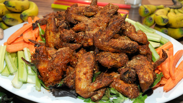 PHOTO: 'Wangs N Heat' kick up the spice as one of GMA's Spicy food recipes, seen here.