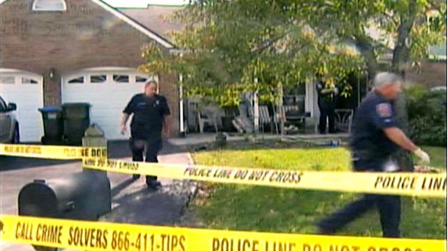 PHOTO: Police and crime scene tape