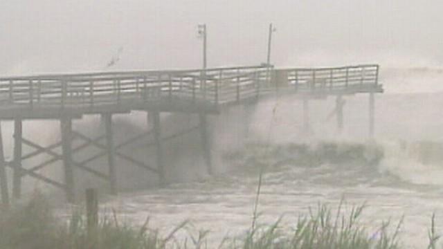 Hurricane Irene Hits the Mainland