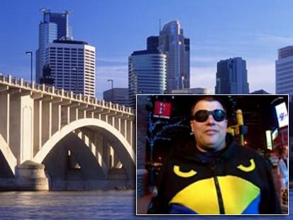 VIDEO: Superheroes fight crime in Minneapolis.