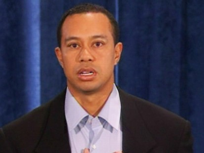 Video: Tiger Woods makes statement about his sex scandal.