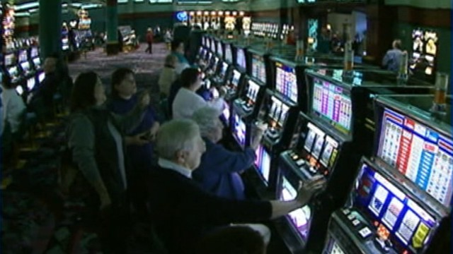 VIDEO: Some of the Jersey shores 11 casinos shut down before the hurricane.