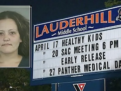 Video: Florida teacher arrested for having sex with student.